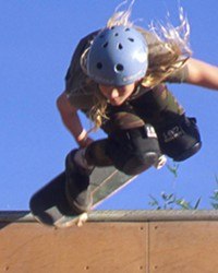 THEY PERSISTED Stoke Chasers, a locally made short film about young women breaking into the male-dominated skate and surf scenes, will be screened with Unnur, followed by a filmmakers Q-and-A on Dec. 5.