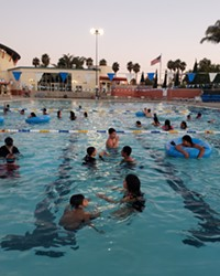 GETTING FIT While Santa Maria's Paul Nelson Aquatic Center (pictured) will remain closed for a bit longer, the city's Hagerman Sports Complex is back open for patrons to utilize on a reservation-only basis.