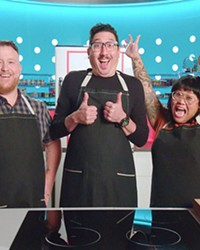 KITCHEN THROWDOWN Three contestants face off in a competition to turn unfinished food into finished culinary masterpieces, in the Netflix reality TV-series Best Leftovers Ever!