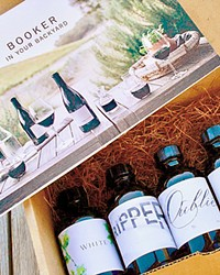 TASTING NOTES Booker Vineyard and Winery can ship its tasting kits to every state to which it already ships wine. Find more information at bookerwines.com.