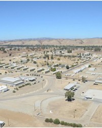 HOUSING? Camp Roberts (pictured) could be home to unaccompanied migrant children soon.