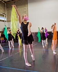 DANCING SCENE CORE Dance San Luis Obispo students follow COVID-19 safety protocols while learning how to make some dance magic at SLO County's Best Dance Company.