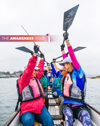 Awareness Issue 2019: Dragon boating for survival, violence prevention starts at the root, connecting through cancer, and a clothing swap that cares