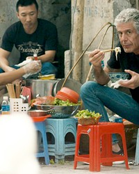 SOULMAN Renowned foodie and traveler Anthony Bourdain lived large and took fans along for a wild ride, and we hear from those closest to him about the man and the loss felt when he died, in Roadrunner: A Film About Anthony Bourdain.