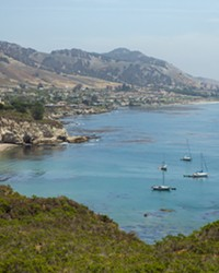 CHANGE AND COMPROMISE San Luis Obispo County has plans to clean up Pirate's Cove and Cave Landing, while maintaining the area's quirky character.