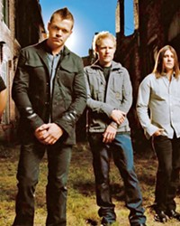 'KRYPTONITE' 3 Doors Down brings their Mississippi rock sounds to Vina Robles Amphitheatre on Aug. 29.
