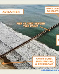 A MODERN MAKEOVER Rehabilitation will update the Avila Pier with a more accessible boardwalk for visitors with disability.