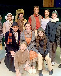 THE MOST WONDERFUL STORY OF THE YEAR: SLO LITTLE THEATRE BRINGS MOVIE CLASSIC 'A CHRISTMAS STORY' TO THE STAGE
