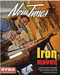 STEEL RELEVANT: MAX RANDOLPH EMBRACES HIS ANCESTRAL ROOTS IN THE BLACKSMITHING TRADE