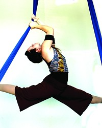 SUSPENDED MOTION AERIAL ARTS PRESENTS 'EVENTYR: ELEMENTAL FORCE,' JUNE 14 AND 15 AT THE CLARK CENTER