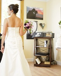 DRESS FOR THE OCCASION :  The Wedding Gallery of San Luis Obispo offers brides a one-stop shop where they can relax and take care of a lot of details big and little at once.