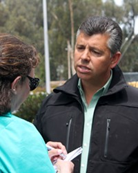 POT OR HEMP? Former Lieutenant Governor Abel Maldonado is under investigation by SLO County for an alleged cannabis or hemp farm located on his property.