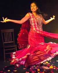 TELLING HER STORY Muthaland, written and performed by Minita Gandhi, is a one-woman show that tackles the writer's journey as she travels to India to uncover family secrets.