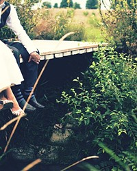 HAPPY PLANET, HAPPY COUPLE A single wedding typically generates between 400 and 600 pounds of trash. But there are some tips and tricks to lessening your big day's environmental impact.