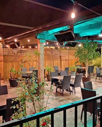 READY FOR BUSINESS Hapy Bistro announced the completion of its patio remodel and welcomed customers to dine-in once again on June 10.