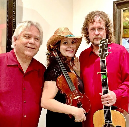 THREE B's Wally Barnick, Julie Beaver, and Kenny Blackwell are The Rockin' Bs Band, livestreaming Sept. 19 as part of Atascadero's Saturday in the Park concert series. - PHOTO COURTESY OF THE ROCKIN' BS BAND