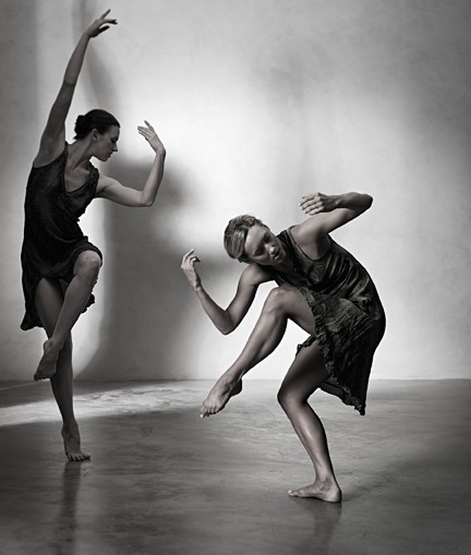 EVOCATIVE :  Choreographer Lisa Deyo works to capture genuine human feeling in her work. - PHOTO BY BARRY GOYETTE
