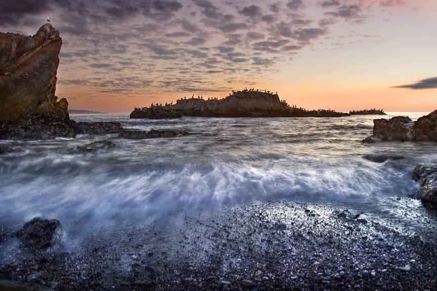 WAVE DRAW: - PHOTO BY TONY HERTZ