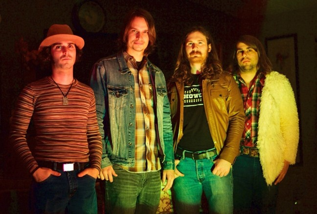 ZEPPELINESQUE!:  On Jan. 17, Camozzi's in A-Town hosts fuzzily psychedelic rock'n'roll Slow Season. - PHOTO COURTESY OF SLOW SEASON