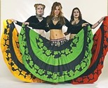 BELLY WHO?:   Black Sheep Belly Dance is one of many troupes who will perform over the two day Tribal Fusion Faire on Dec. 13 and 14 at the SLO Vets Hall, which also features ethnic foods and vendors selling exotic apparel - PHOTO COURTESY OF BLACK SHEEP BELLY DANCE