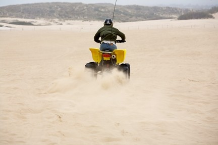AMPLE SAND? :  Depending on which side wins in court, a portion of the Oceano Dunes could continue to serve as an off-road playground or ecological buffer. Or the county could just settle before the decision comes down. - FILE PHOTO
