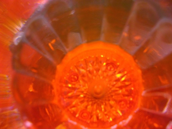 SHINY! :  Paul Miser, age 4, also captured this abstract image he calls Sunshiny Cup. - IMAGES COURTESY OF SALON 544