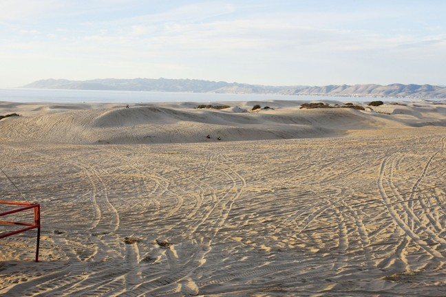 SHIFTING SANDS:  Although the role of Oceano Dunes OHV activity in causing air pollution is still hotly debated, two major players in the debate announced that they'd taken a step toward a resolution on March 26. - FILE PHOTO BY STEVE E. MILLER