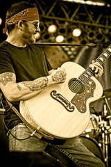 GET STONEY! :  Red Dirt artist Stoney LaRue returns to the Graduate on Nov. 19. - PHOTO COURTESY OF STONEY LARUE