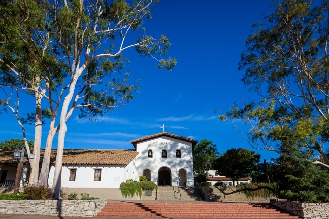 HEAR THE BELLS:  In 1773, Mission San Luis Obispo de Tolosa was the fifth mission founded by Father Junipero Serra in California. - PHOTO BY KAORI FUNAHASHI