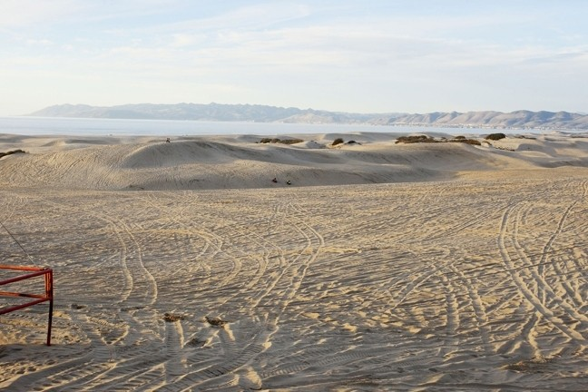 DUNE GLOOM:  In the wake of a heated Nov. 12 meeting, stakeholders in the ongoing Oceano Dunes dust mitigation conflict disagree over how much faith they have regarding future air quality protection efforts. - FILE PHOTO BY STEVE E MILLER