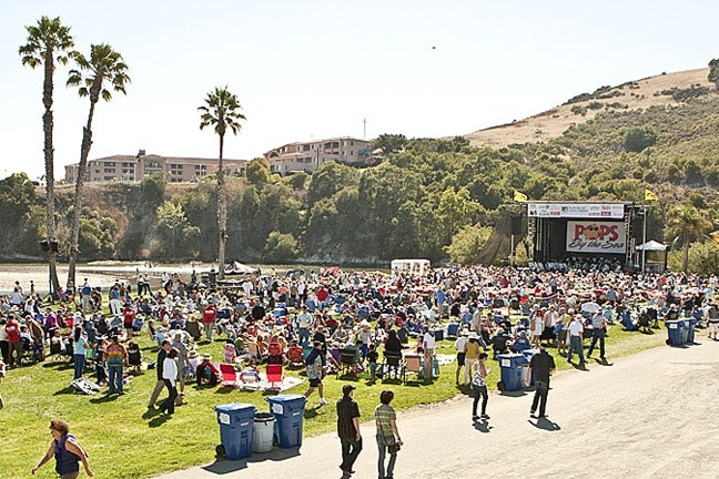 PEOPLE PROBLEMS:  Though large events like POPS by the Sea (hosted at the Avila Beach Golf Resort, pictured) are undeniably popular, many stakeholders from different sides argue that the county's regulatory framework for events is fatally flawed. - FILE PHOTO BY STEVE E. MILLER