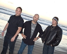 POWER TRIO! :  The Arroyo Grande Village Summer Concert series is going to rock on July 29, when the Mean Gene Band delivers some blistering rock, country, metal, blues, and R&B classics from the Rotary Bandstand. - POWER TRIO! PHOTO COURTESY OF THE MEAN GENE BAND