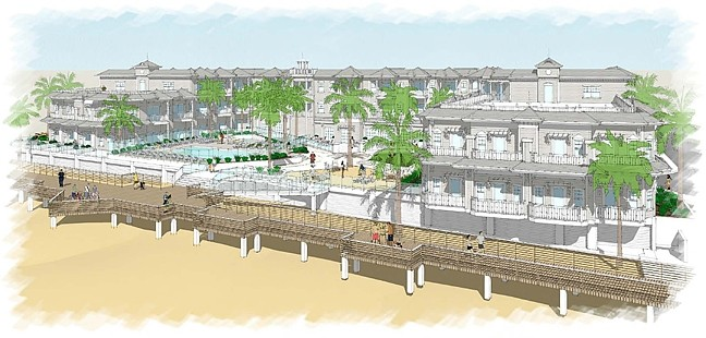 THE BATTLE OF BEACHWALK:  After facing an appeal from the California Coastal Commission and a lawsuit from concerned residents, plans to build a large hotel and resort in Pismo Beach are moving toward construction. - IMAGE COURTESY OF THE CALIFORNIA COASTAL COMISSION