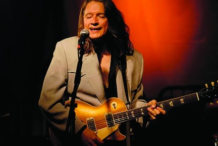 GUITAR GOD :  Amazing guitarist Robben Ford is one of eight stellar artists playing the inaugural Seven Sisters Fest on July 12 and July 13 at El Chorro Regional Park. - PHOTO COURTESY OF ROBBEN FORD