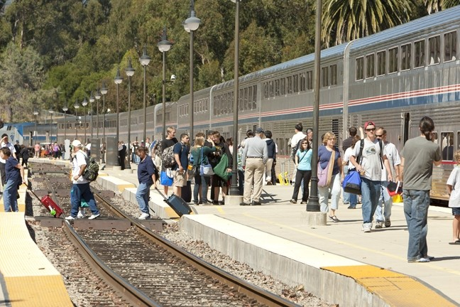 CAN YOU TRAIN YOUR WAY TO SAN JOSE? :  Bogged down in bureaucracy since voters passed a 2003 bond measure to fund a segment of commuter railway to connect Los Angeles to San Francisco, San Luis Obispo riders are wondering if the historic Coast Daylight will ever return. - FILE PHOTO BY STEVE E. MILLER