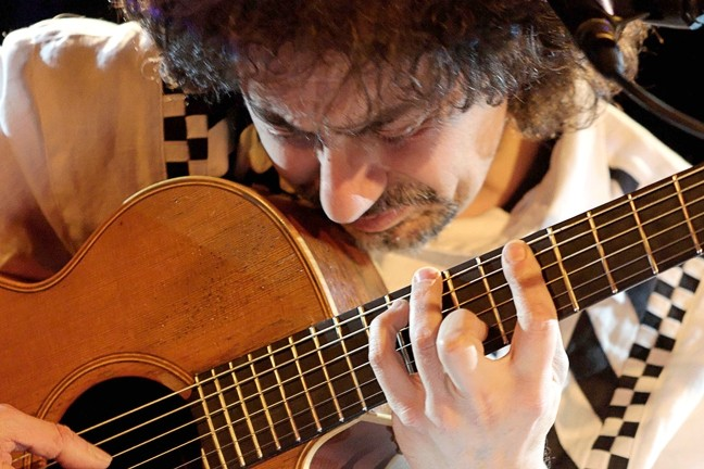 BEST OF THE BEST :  Guitar great Pierre Bensusan plays Feb. 11 at Coalesce and Feb. 12 at Castoro Cellars Winery. - PHOTO COURTESY OF PIERRE BENSUSAN