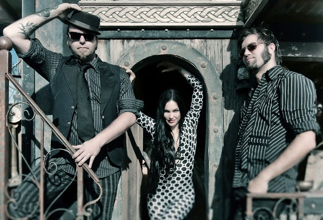 BOLLYWOOD MEETS CIRCUS SIDESHOW:  Beats Antique mixes music and performance art into an incredible live show on Aug. 31, at Vina Robles Amphitheatre. - PHOTO COURTESY OF BEATS ANTIQUE
