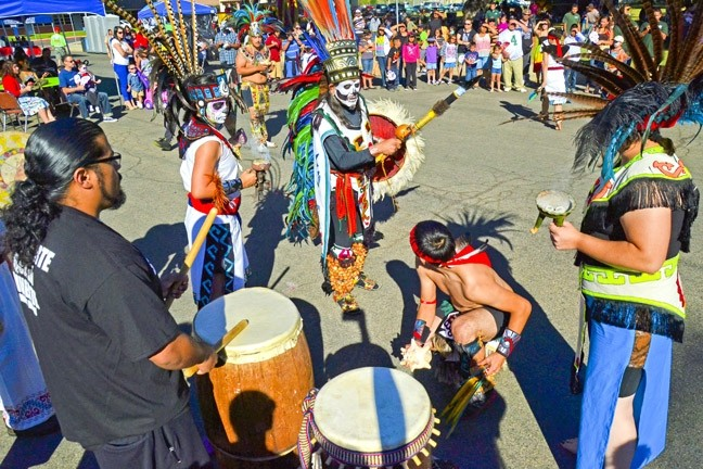CENTURIES OF CELEBRATION:  The city of Santa Maria's Dia de los Muertos event will include a performance by Aztec dancers. The celebration is said to have originated with the indigenous Aztecs. - PHOTO COURTESY OF THE CITY OF SANTA MARIA