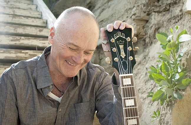 FUNNY MAN:  Known for his acerbic wit and offbeat comedy in his role on The Office, Creed Bratton will show his musical side on Aug. 14 at SLO Brew. - PHOTO COURTESY OF CREED BRATTON