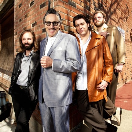 SMOOTH DUDES :  Gritty roadhouse rock and blues act Rick Estrin and the Nightcats headlines the next SLO Blues Society show on Dec. 1 at the SLO Vets Hall. - PHOTO COURTESY OF RICK ESTRIN AND THE NIGHTCATS