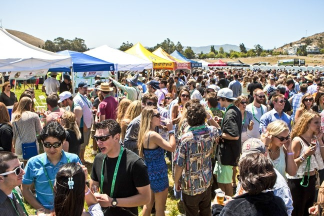 THE YOUNGER CROWD:  Some events—like the California Festival of Beers (pictured)—are exempt from having to apply for complicated licenses or permits. Those who have had to apply say the process is extremely inhibitory, and some stakeholders are worried that such regulations are hurting SLO County's top industry: tourism. - FILE PHOTO BY STEVE E. MILLER