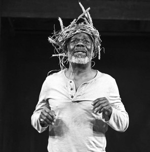 HEAVY LIES THE CROWN :  Joseph Marcell stars as Shakespeare's troubled king, who plummets into madness after the emotional rejection of his youngest daughter. - PHOTO BY ELLIE KURTTZ