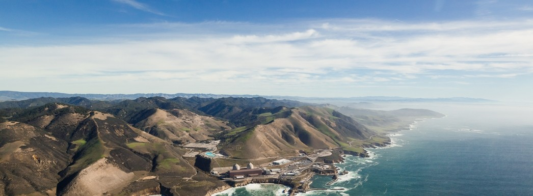ALL ALONE:  Diablo Canyon, the last functional nuclear power plant in California, is now believed to be safe from earthquakes and flooding, according to recent reports by PG&E. But there are still questions about the science that went into those reports, as well as unknowns hidden in redacted NRC reports. - FILE PHOTO