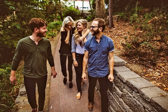 BRING THE JOY:  Local pop act Fialta brings their upbeat sounds to SLO Brew on Oct. 17. - PHOTO COURTESY OF FIALTA