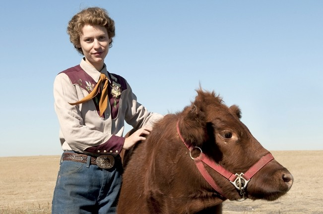 AUTISTIC CATTLE PIONEER :  Clare Danes stars as the woman who revolutionalized the cattle industry and changed the face of autism in the '70s, in Mick Jackson's Emmy award-winningTemple Grandin. - PHOTO COURTESY OF HBO FILMS