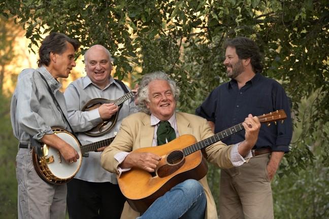 BLUEGRASS BUCKAROOS :  The Peter Rowan Bluegrass Band plays Feb. 5 at The Clark Center. - PHOTO BY TIM BENKO