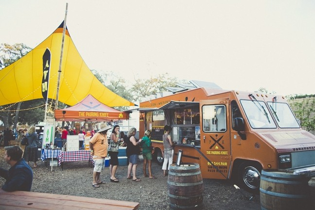 FOOD FOREST:  The Pairing Knife will come together with a slew of local brews and an eclectic mix of food vendors for this year's Beaverstock celebration under the oaks. - PHOTO COURTESY OF CASTORO CELLARS