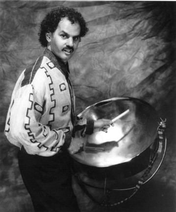 PAN MAN:  Amazing steel drummer Jeff Narell is coming to Steynberg Gallery on Feb. 22. - PHOTO COURTESY OF JEFF NARELL