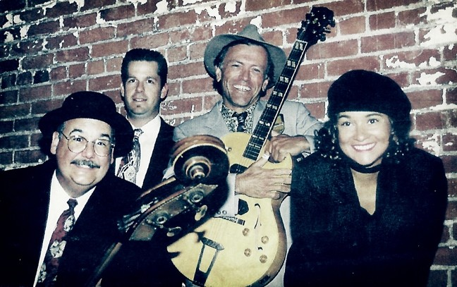 FOUR OF SIX:  Legendary Central Coast swing-jazz combo The Viper Six plays Jan. 9 at D'Anbino Cellars and Jan. 15 at the Colony Hall of the Best Western Plus Colony Inn. - PHOTO COURTESY OF THE VIPER SIX