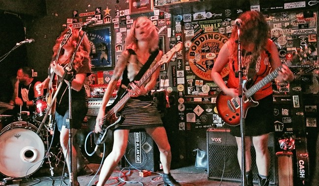 TINA TIME:  HOT TINA plays at the Frog and Peach for the band's last show of 2015 on Wednesday, Dec. 30, at 10 p.m. - PHOTO BY TINA WAGGONER